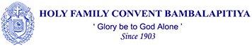 HFCB - Holy Family Convent Bambalapitiya