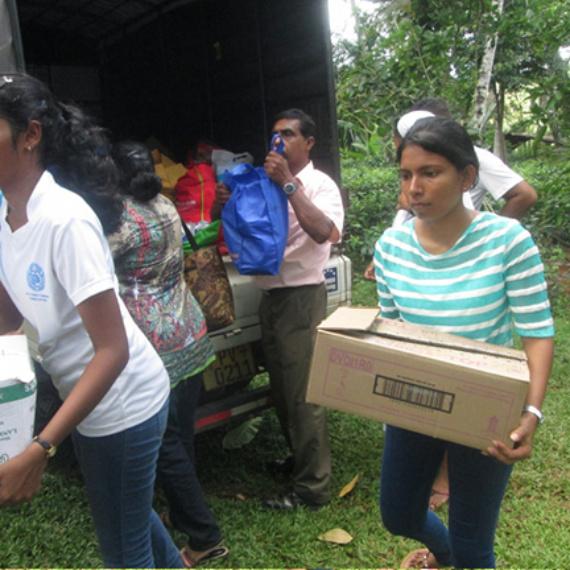 Flood Relief Program 2017 in Pitabadara Mathara