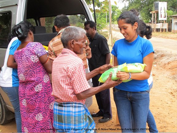 Familian Outreach visit to Vavuniya